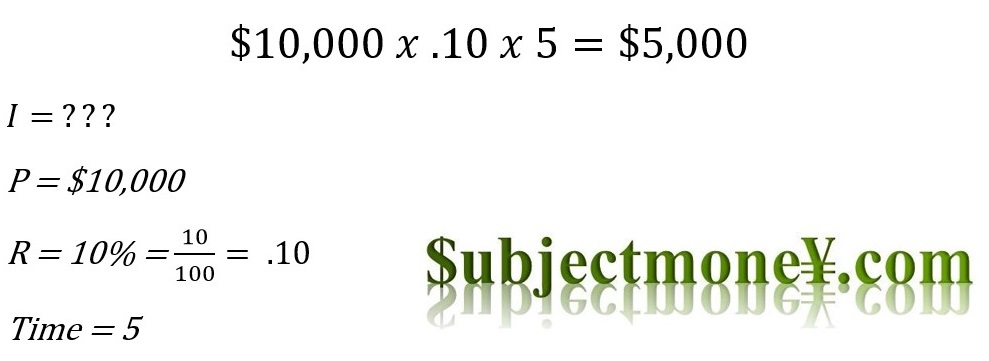 Simple interest definition and formula lesson and how to for Terest definition