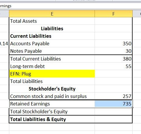 Employee stock options on balance sheet